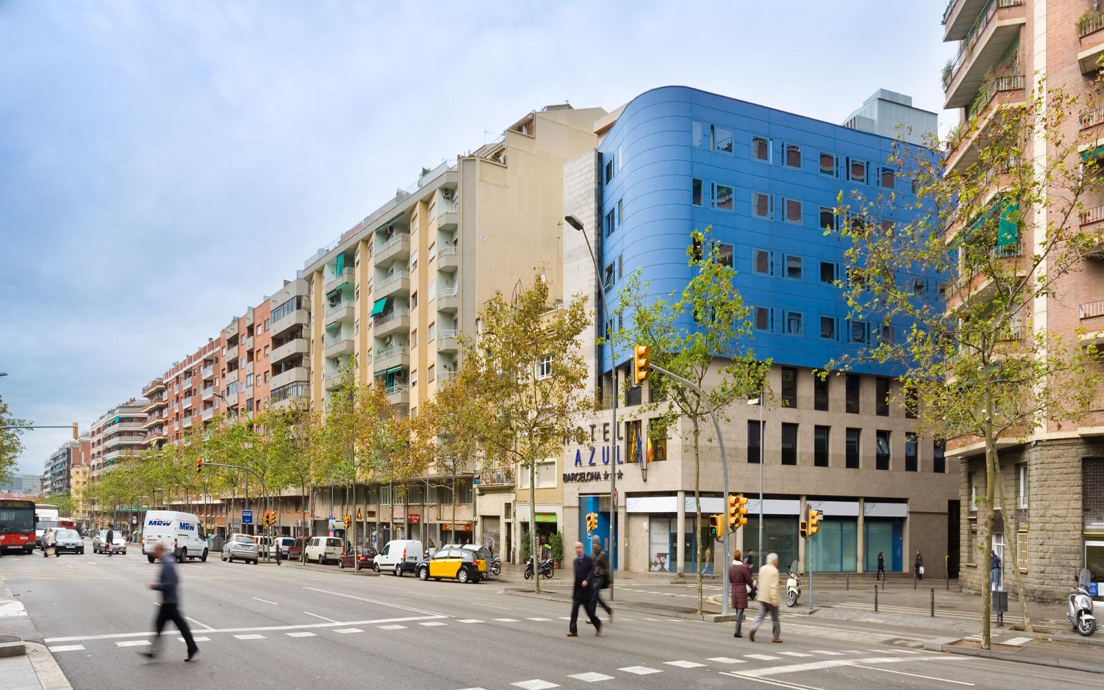 Hotel acta azul barcelona web oficial for Hotel de paris barcelona